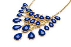 Славное ожерелье изолированное на белизне Стоковое Изображение