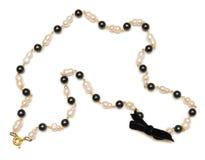Славное ожерелье изолированное на белой предпосылке Стоковое Фото
