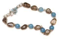 Славное ожерелье изолированное на белой предпосылке Стоковая Фотография