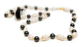 Славное ожерелье изолированное на белой предпосылке Стоковое Изображение