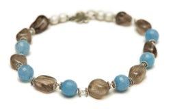 Славное ожерелье на белой предпосылке Стоковые Фото