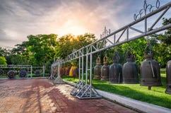 Славные колоколы и Солнце Стоковые Фото