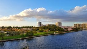 Славные красивые облака Стоковые Изображения