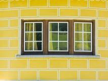 Славные окна Стоковая Фотография