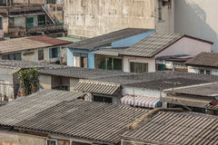 Славный взгляд главного города плотность резиденцией стоковые изображения rf