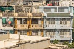 Славный взгляд главного города плотность резиденцией стоковая фотография rf