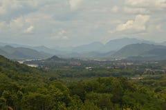 Славный взгляд Luang Prabang Стоковое фото RF