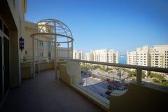 Славный интерьер современного балкона Стоковое Изображение RF