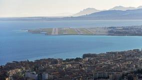 Славный и свой авиапорт Стоковое Изображение