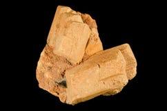 Славный кристалл фельдшпата microcline Стоковые Изображения