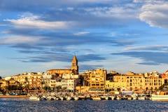 Славный маленький город в Испании Стоковое фото RF