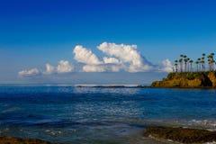 Славный солнечный день на пляже Стоковая Фотография RF