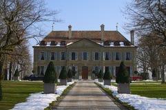 Славный швейцарский дом Стоковые Изображения