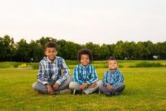3 славных дет Стоковые Фотографии RF