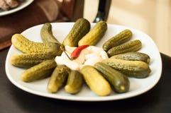 Славянские первоначально блюда Стоковая Фотография