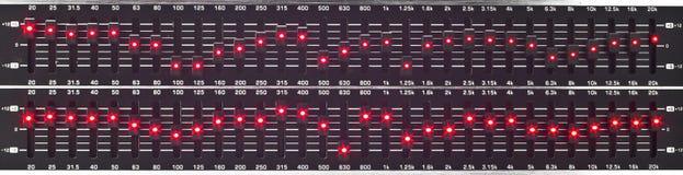 Слайдеры выравнивателя Стоковая Фотография RF