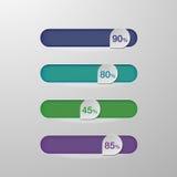 Слайдер button-1 Стоковое Фото
