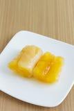 Сладкие картофели в сиропе Стоковое Фото