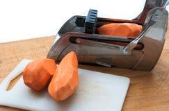 Сладкий картофель в резце фрая Стоковая Фотография RF