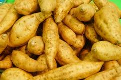 Сладкий картофель, произведенный в провинции Цзянси Китая Стоковое Изображение
