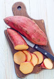 Сладкий картофель стоковые фотографии rf