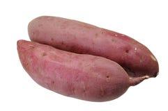 2 сладкого картофеля Стоковая Фотография