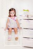 Сладостная девушка preschool стоковые изображения rf
