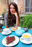 Сладостная еда Стоковая Фотография