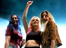 Сладостная Калифорния (диапазон девушки) на фестивале шипучки Primavera Стоковые Фото