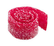 Сладостная красочная конфета, изолированная на белизне Стоковые Фотографии RF