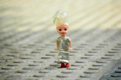 Сладостная кукла для младенца стоковое изображение
