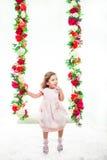 Сладостная маленькая девочка стоковые фотографии rf