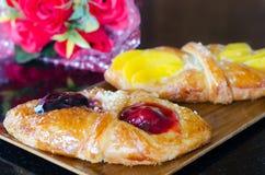 Сладостное облупленное печенье с плодоовощами Стоковое Изображение RF