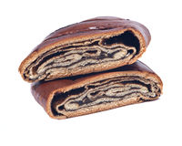 Сладостное печенье danish макового семенени стоковое фото rf