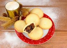 Сладостное рождество семенит пироги Стоковое Изображение RF