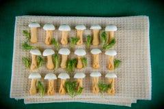 Сладостные грибы Стоковая Фотография