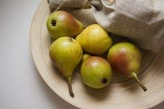 Сладостные желтые груши Стоковая Фотография RF