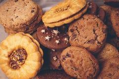Сладостные здоровые печенья Стоковая Фотография
