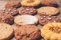 Сладостные здоровые печенья Стоковое Фото