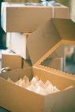 Сладостные коробки Стоковые Изображения