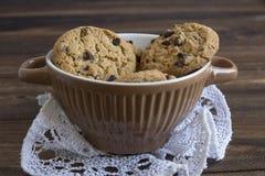 Сладостные печенья в шаре, еде Стоковая Фотография