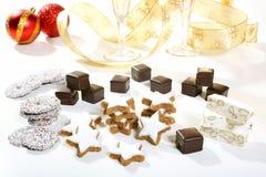 Сладостные печенья рождества Стоковые Фото