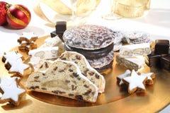 Сладостные печенья рождества Стоковые Изображения
