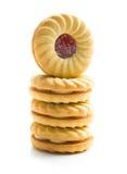 Сладостные печенья с вареньем Стоковое фото RF