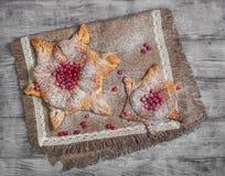 Сладостные плюшки печенья датские Стоковые Изображения RF