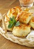 Сладостные плюшки для завтрака Стоковое Изображение RF