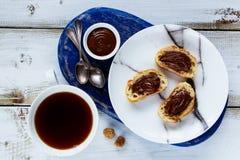Сладостные сандвичи десерта Стоковое фото RF