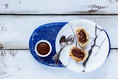 Сладостные сандвичи десерта Стоковое Изображение RF