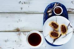 Сладостные сандвичи десерта Стоковые Фотографии RF