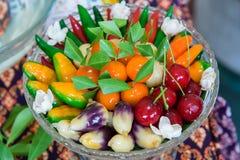 Сладостные тайские десерты Стоковые Изображения